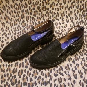 Jeffrey Campbell Loafers w/ Ankle Strap